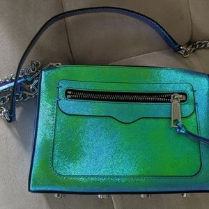 Rebecca Minkoff Avery Crossbody Purse Iridescent